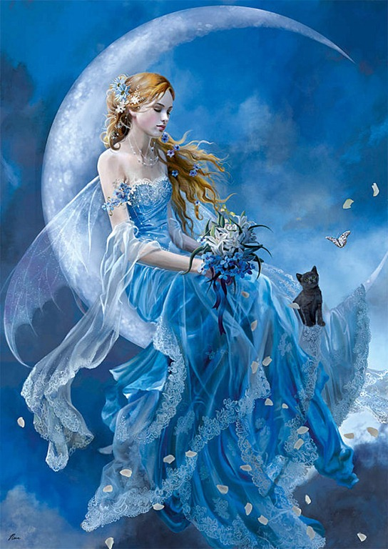 美しい 女神 イラスト